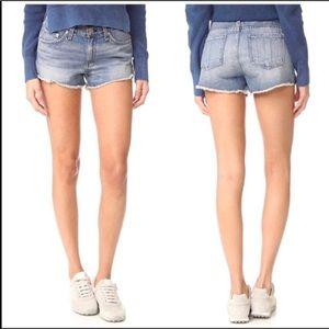 NWT Rag & Bone Cut Off Denim Shorts in La Quinta